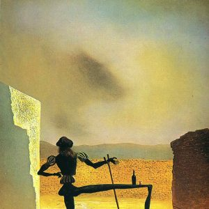 Dali The Ghost Of Vermeer
