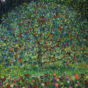 Gustav Klimt Tablou Canvas Apple Tree