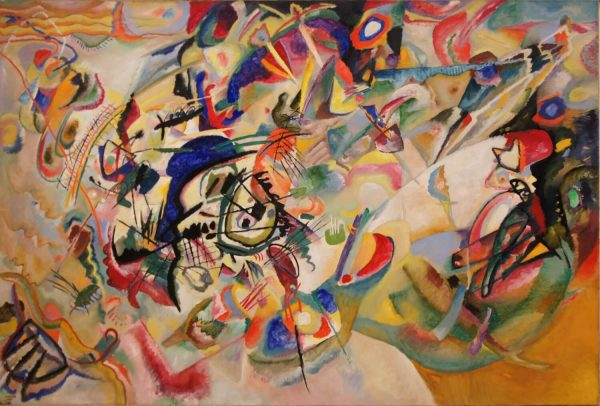 Kandinski Composition VII tablou canvas
