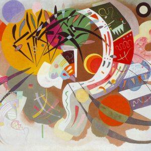 Kandinski Dominant Curve tablou canvas