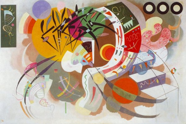 Kandinski Dominant Curve tablou canvas