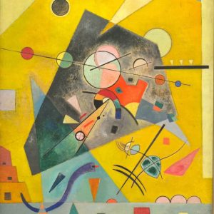 Kandinski Silent Harmony tablou canvas