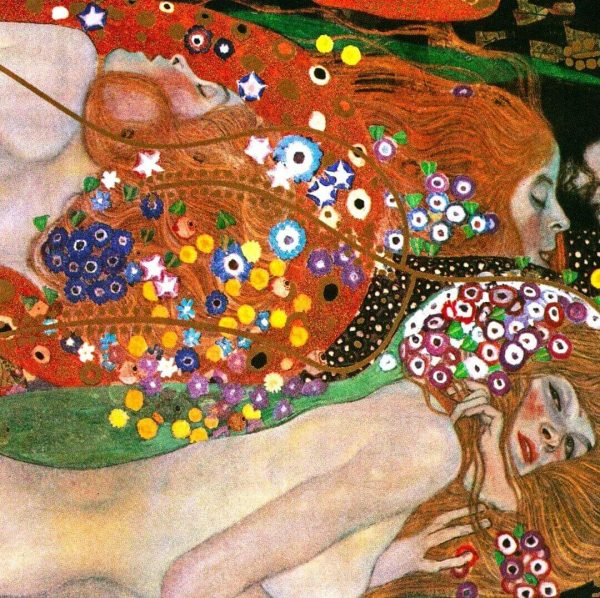 Women of Klimt tablou canvas reproducere