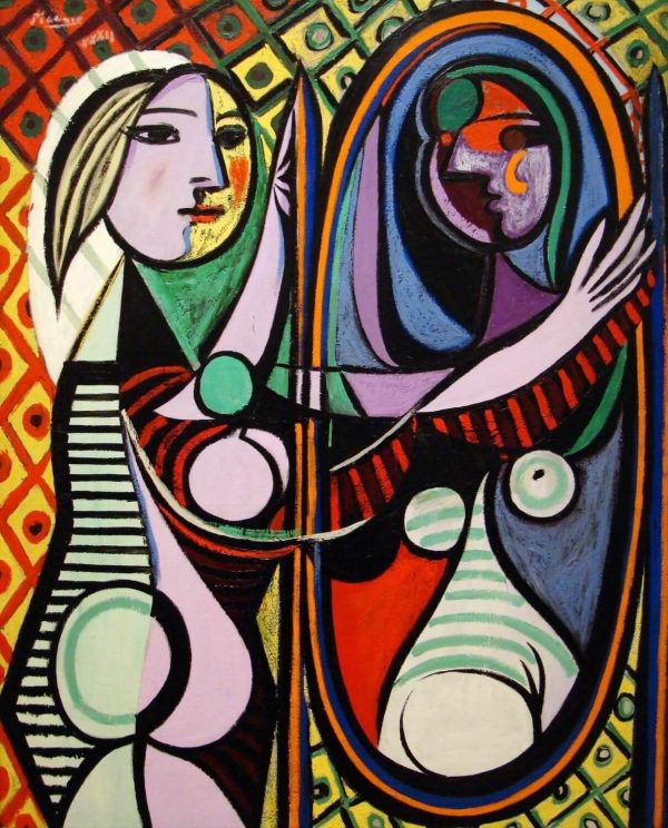 Picasso Girl before a Mirror