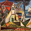 Picasso - Mediterranean Landscape tablou canvas