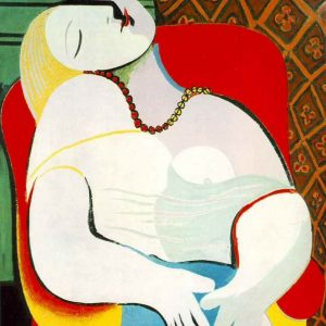 Picasso The Dream tablouri canvas celebre