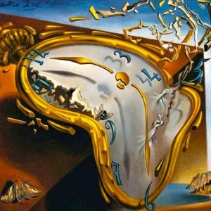 Salvador Dali The Melting Watch