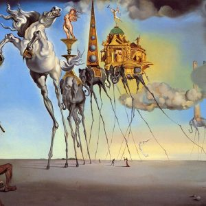 Salvador Dali the temptation of st.anthony tablou canvas