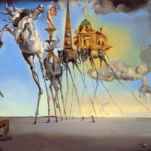 Salvador Dali the temptation of st.anthony tablou canvas