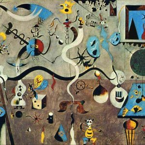 Joan Miro Tablou living arta abstracta 2