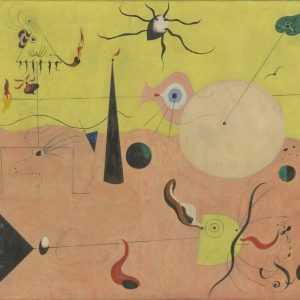 Joan miro Tablou living catalan hunter landscape