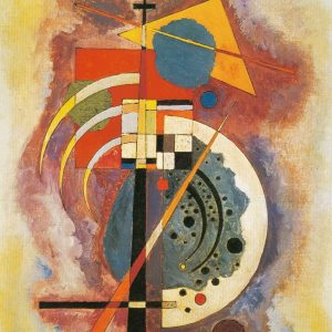 Tablou living arta abstracta Hommage Grohmann