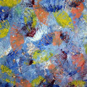Tablou living arta abstracta amurg