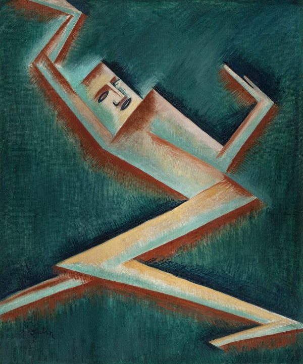 Tablou living arta abstracta om