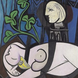 Tablou living arta abstracta nud