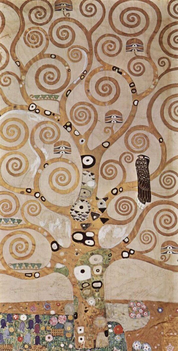 Gustav Klimt The Tree of Life tablou canvas