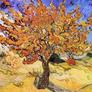 Van Gogh Mulberry Tree tablou canvas