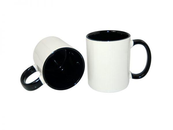 cana personalizata interior negru