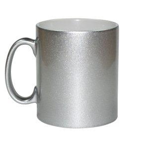 cana personalizata argintie