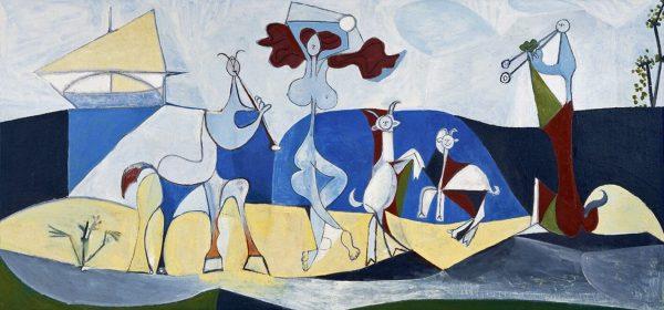 picasso joie de vivre tablou canvas celebru