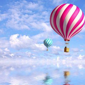 tablou canvas baloane