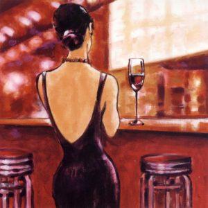 Evening Lounge tablou canvas bucatarie