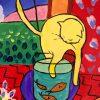 tablou canvas pisica
