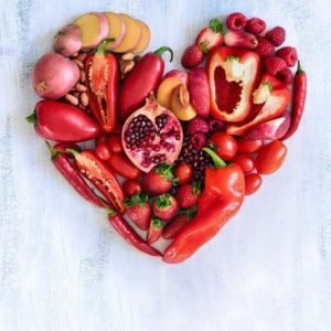 Vegetable Loving Heart tablou canvas