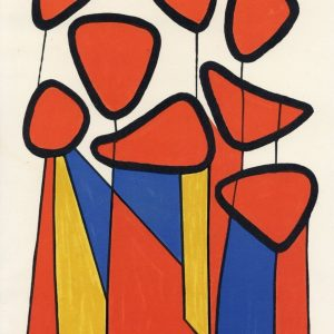 tablou canvas reproducere Calder