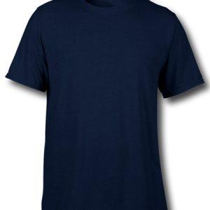 tricou personalizat bumbac albastru navy