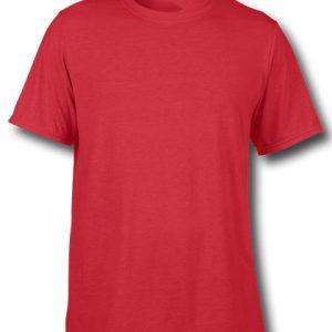 tricou personalizat bumbac rosu