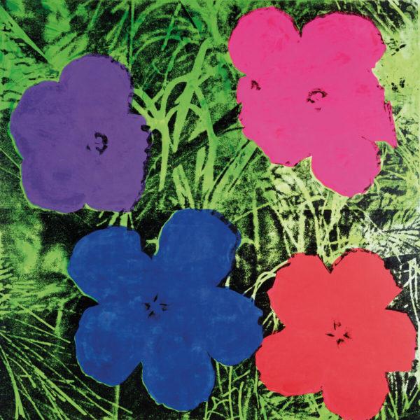 Tablou canvas living Flori