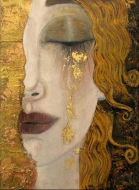 klimt lacrimi aurii