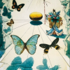 dali butterflies