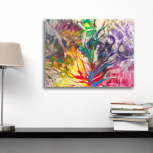 Tablou abstract flower, Printly