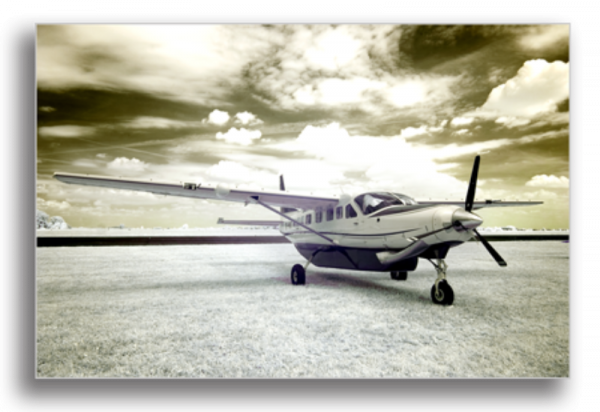 Tablou avion pe aeroport, Printly