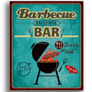 Tablou barbeque bar, Printly