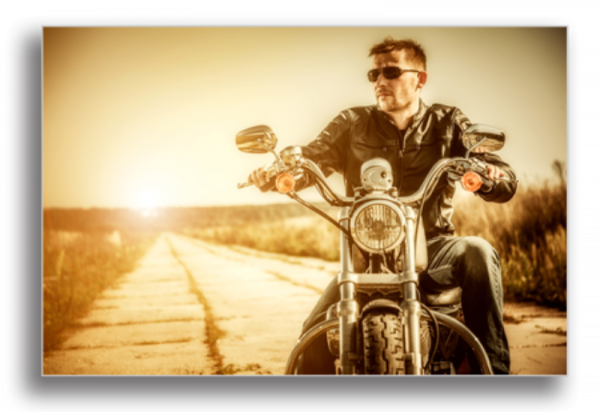 Tablou biker man, Printly