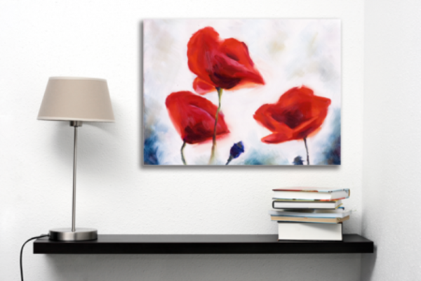 Tablou blossoming poppy, Printly