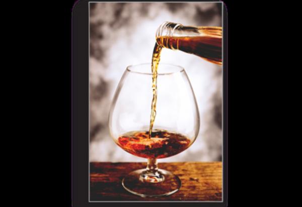 Tablou brandy glass, Printly