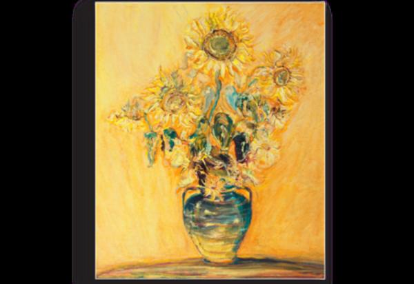 Tablou buchet de floarea soarelui, Printly