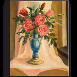 Tablou buchet de trandafiri, Printly
