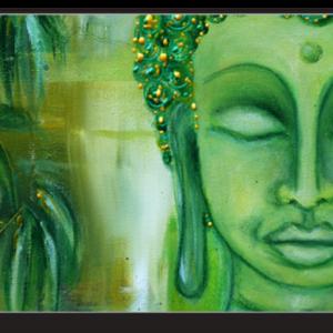 Tablou abstract buddha, Printly