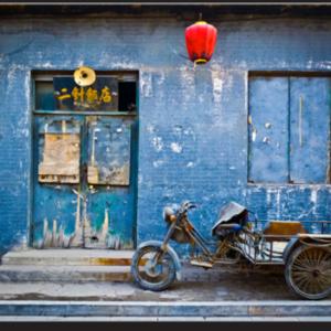 Tablou motorbike in china, Printly