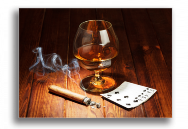Tablou cigar and brandy, Printly