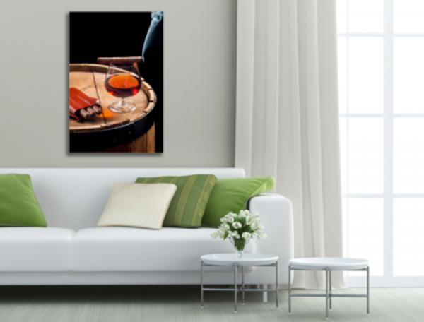 Tablou cigar and cognac, Printly
