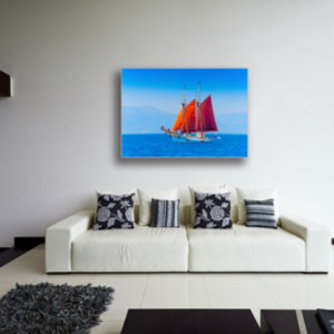 Tablou classic wooden boat, Printly
