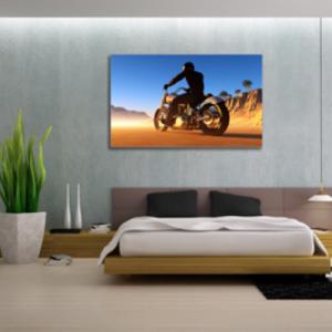 Tablou desert biker, Printly