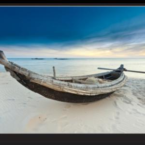 Tablou fisherman boat, Printly