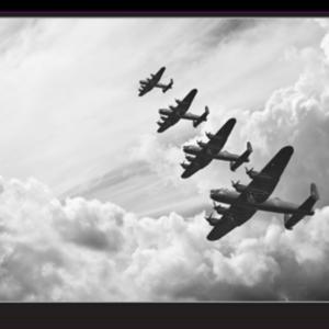 Tablou lancaster bombers, Printly